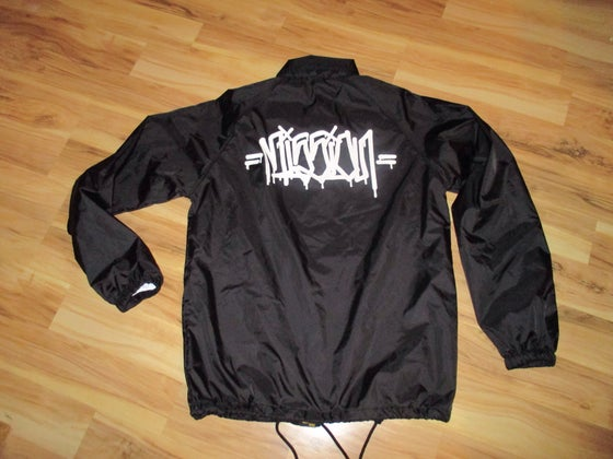 Image of Exclusive MISSION G'$ black windbreaker Limited Edition