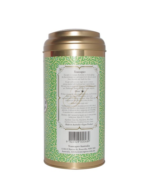 Image of Gorgeous Green Herbal Infusion, Luxury Loose Leaf