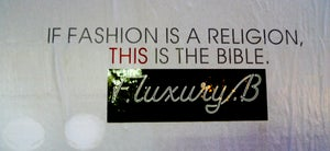 Image of F.luxury.B Stickers