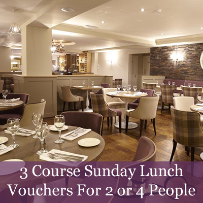 Image of 3 Course Sunday Lunch Voucher for 2 or 4 People