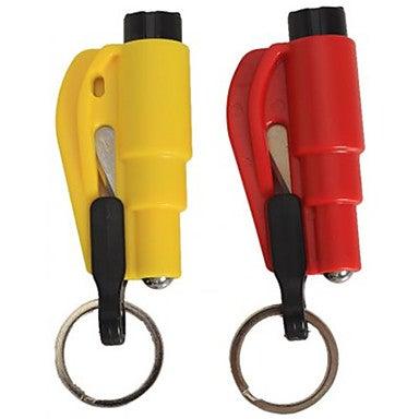 Image of Window Glass Breaker/Seat Belt Cutter Keychain