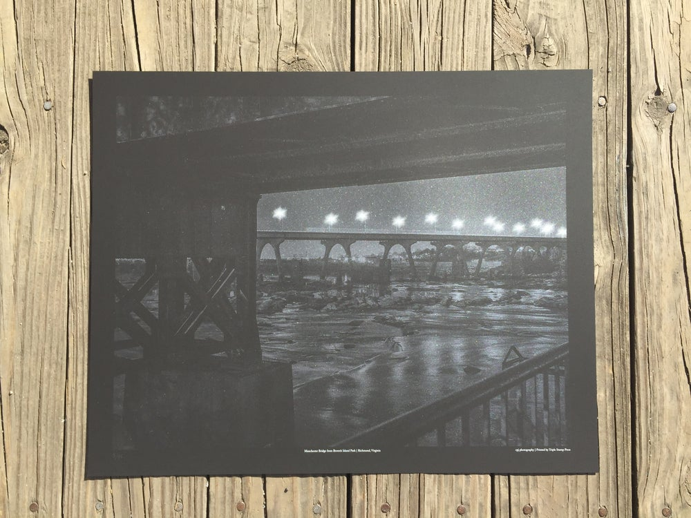 Image of Manchester Bridge from Brown's Island Park | Richmond, Virginia