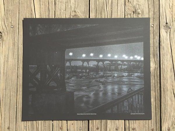 Image of Manchester Bridge from Brown's Island Park | Richmond, Virginia