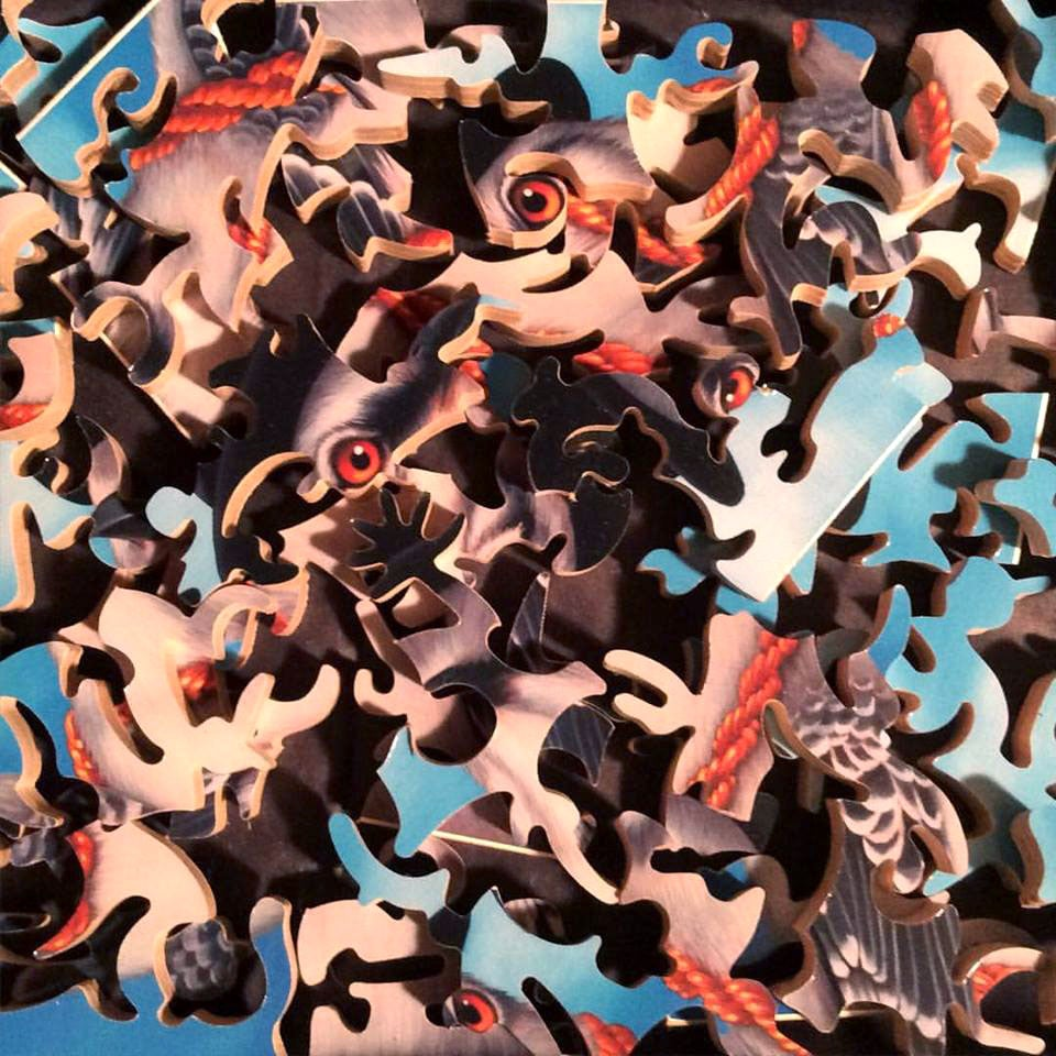 """Image of """"It's Like That"""" Limited Edition wooden jigsaw puzzle"""