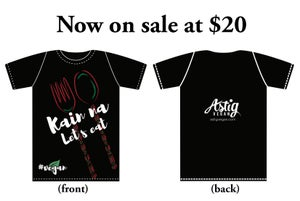 "Image of Astig Vegan ""Kain na, Let's eat"" Tee"
