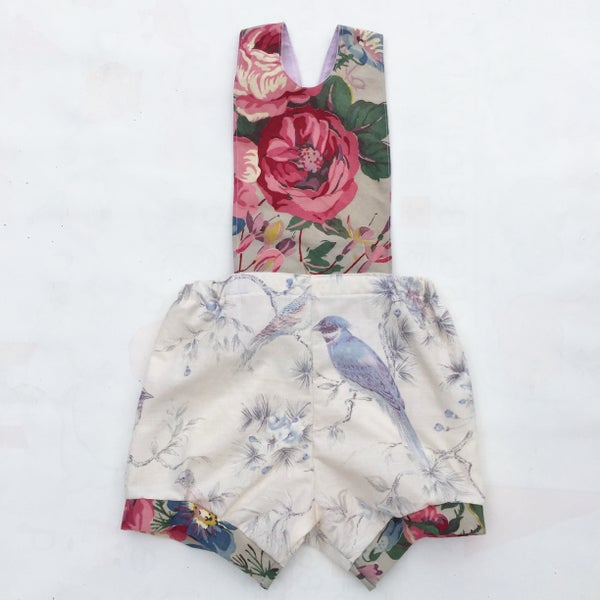Image of Baby Romper - size 12-18months - classic birds