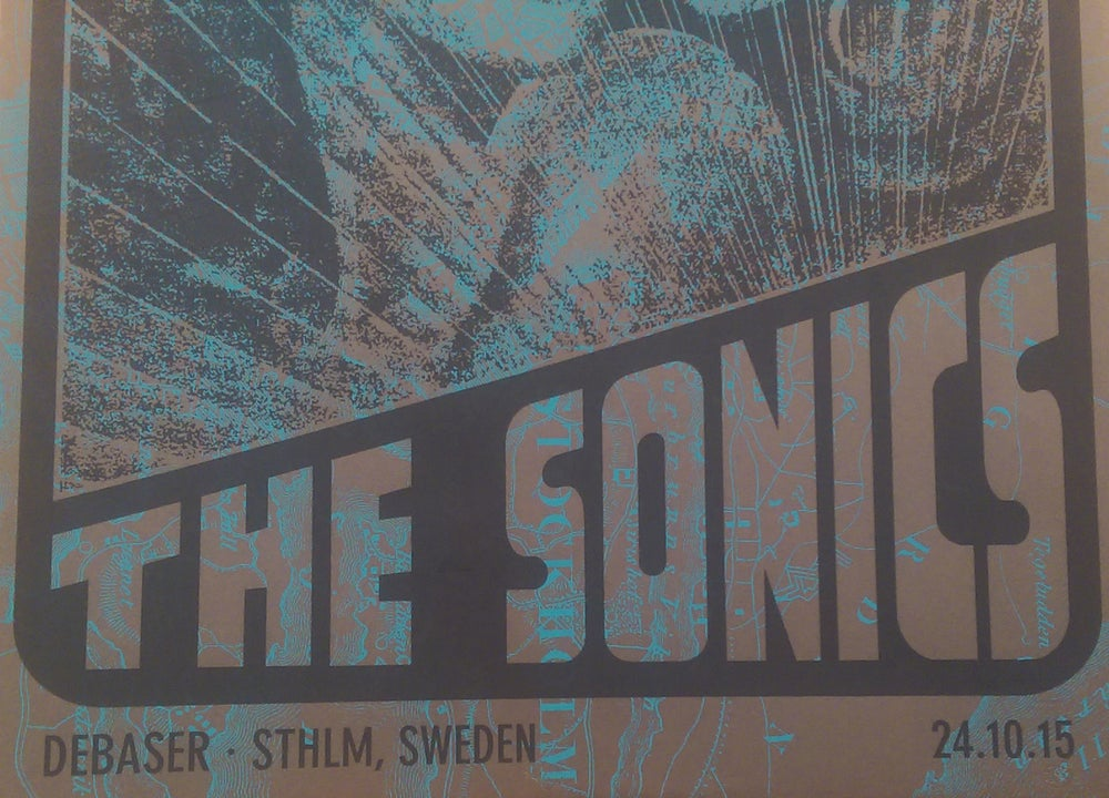 Image of The Sonics - October 24, 2015 / Stockholm, Sweden
