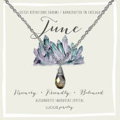 Image of LUCIUS Birthstone Charms - June