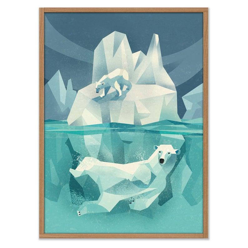 Image of Swimming Polar Bear
