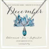 Image of LUCIUS Birthstone Charms - December