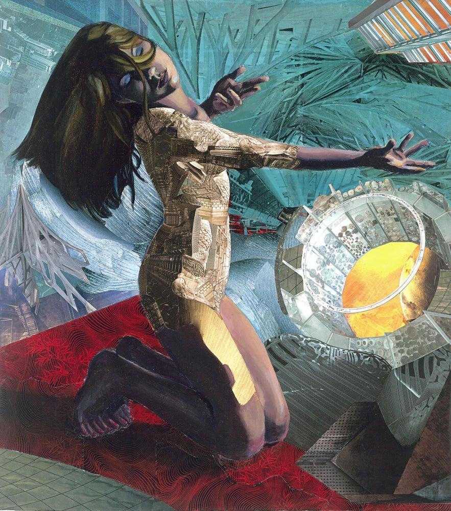"Image of Habitat Ring 9"" X 12"" Fine Art Print"