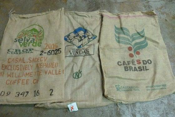 Image of Burlap Coffee Sacks