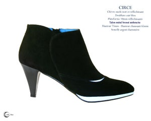 Image of CIRCE Noir SUEDE- Black