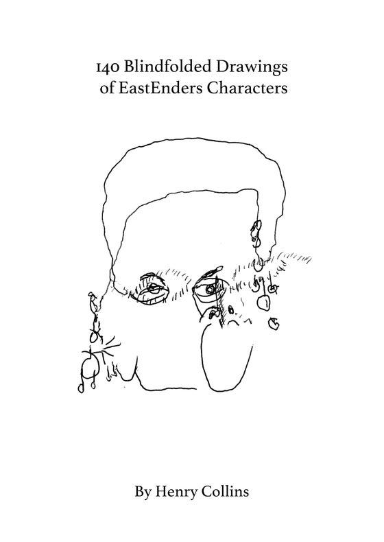 Image of CHNSTRK009 - 140 Blindfolded Drawings of EastEnders Characters