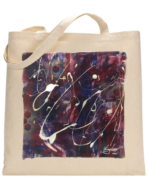 Image of BeeAbstract-ToteBag