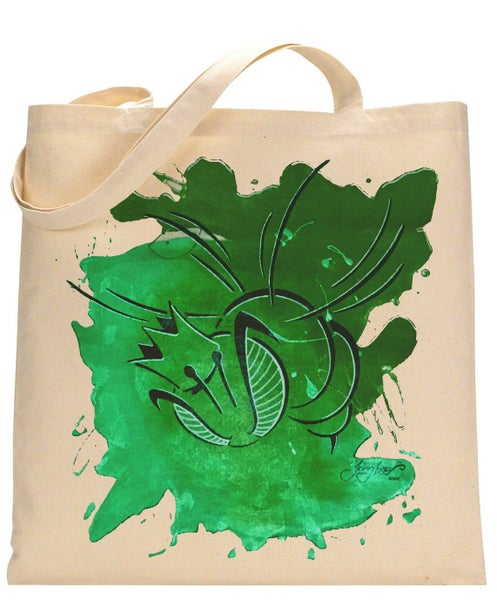 Image of Green-Totebag