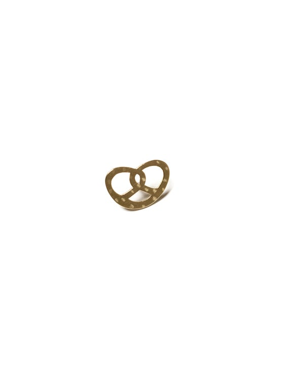 Image of pretzel pin
