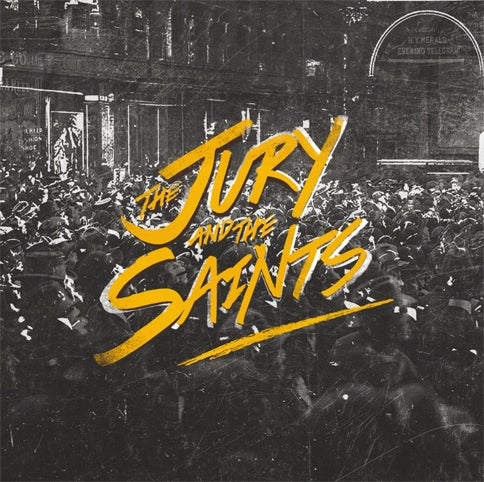 "Image of The Jury & The Saints ""The Jury & The Saints"" CD"