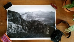 Image of Stirling Ranges - A2 print