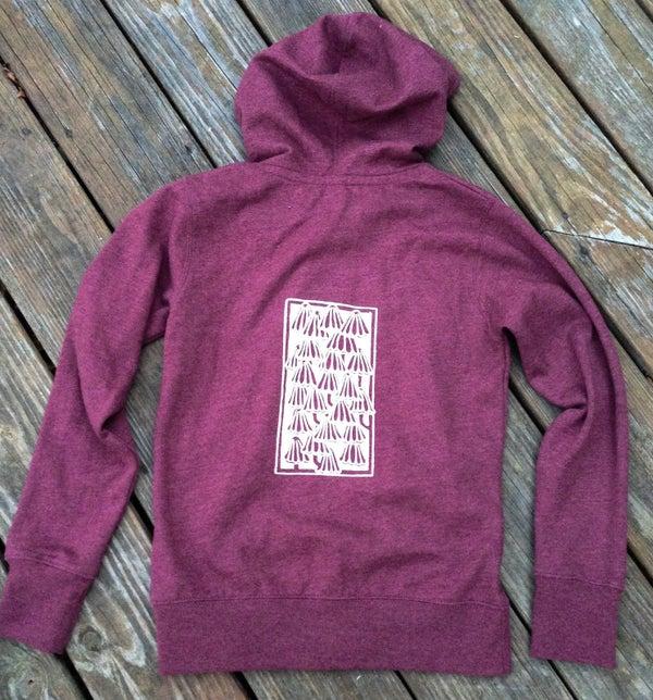 Image of Mushrooms- women's organic blend hoodie