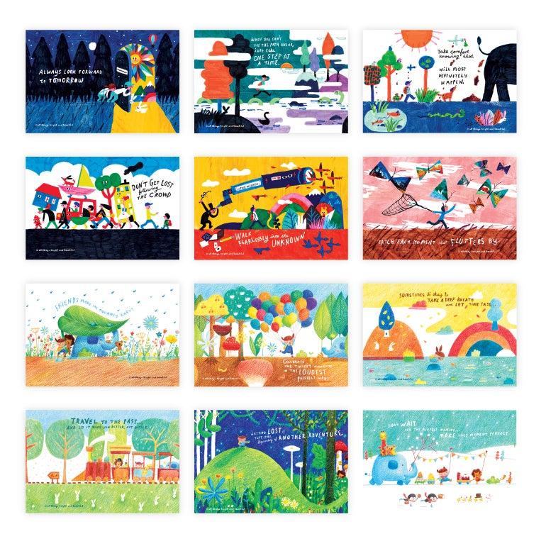 Image of Traveller Postcard Set