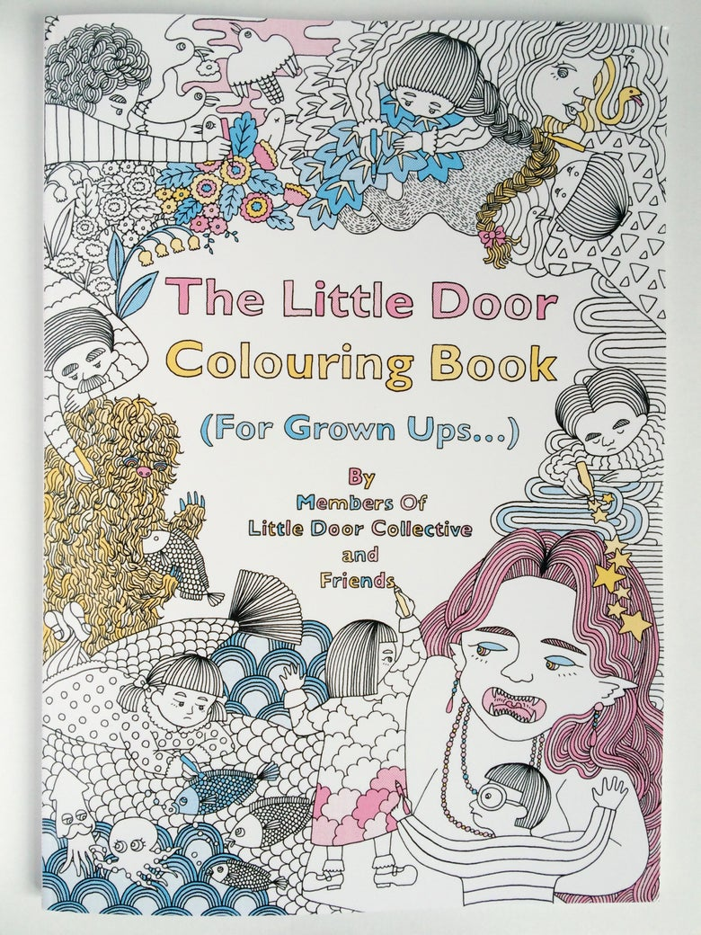 Image of The Little Door Colouring Book (For Grown Ups)