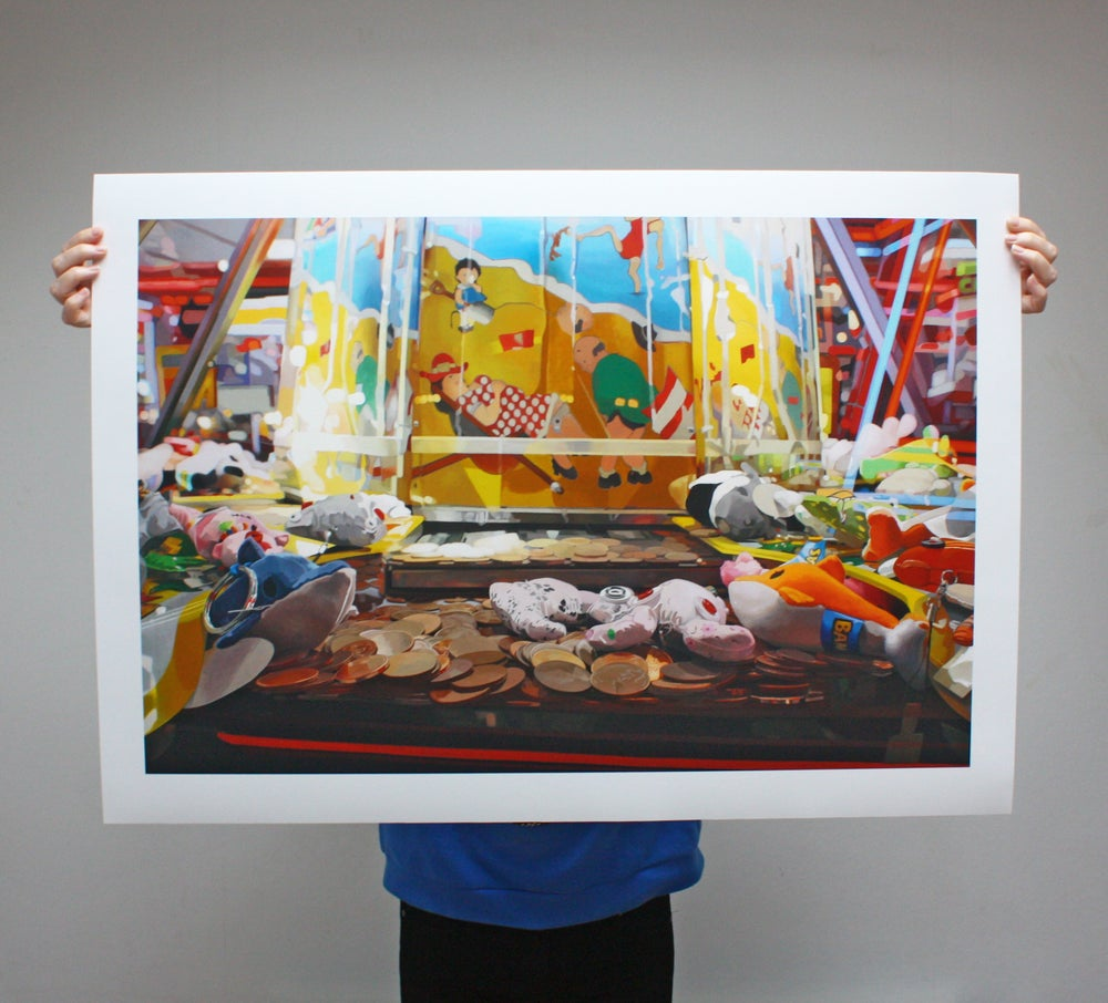 Image of '2p Pusher' - Limited Edition Print - 91.5cm x 65.5cm