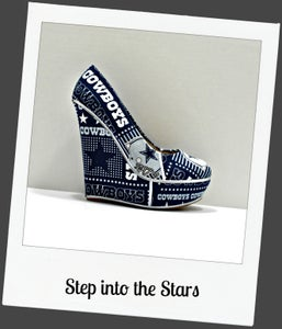 Image of Step into the Stars (wedge)
