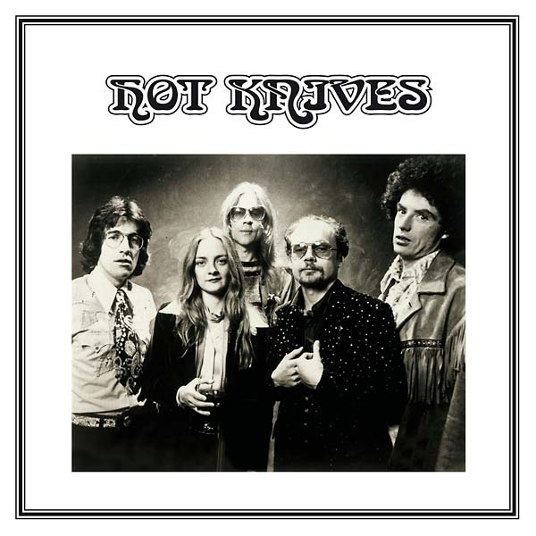 Image of 'Hot Knives' LP (GK001 - Standard Edition)