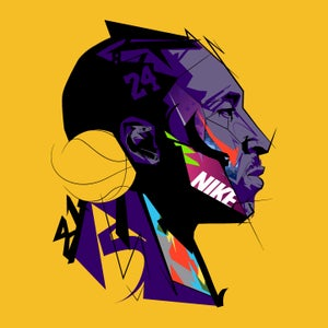 Image of Kobe Art Print