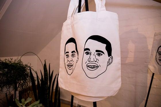 Image of 'Friends in Paris' Tote Bag