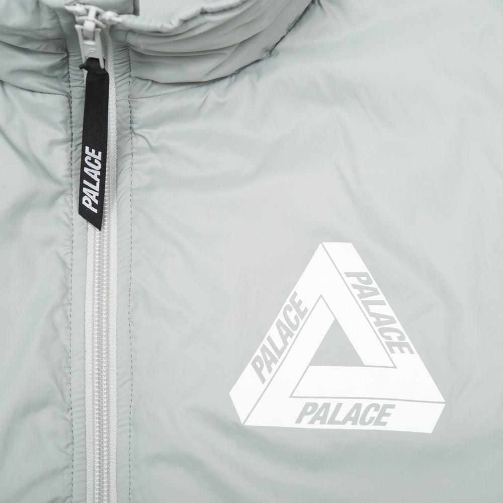 Image of PALACE SKATEBOARDS Packable Thinsulate Pullover Jacket Puritan Grey