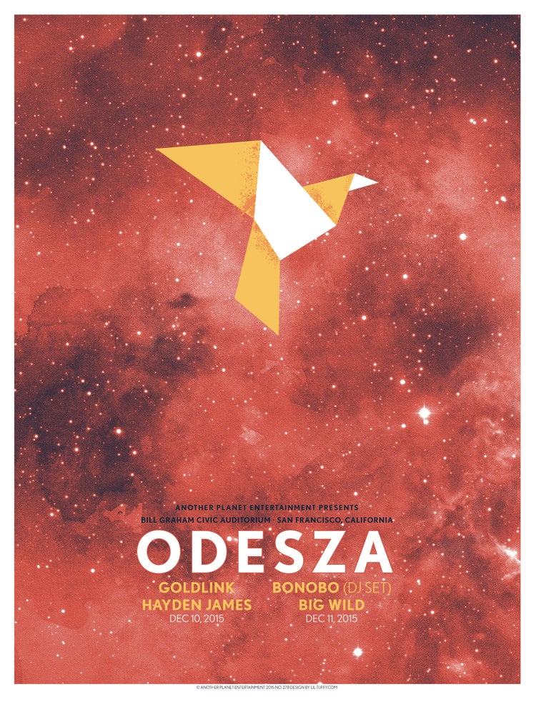 Image of Odesza - San Francisco 2015