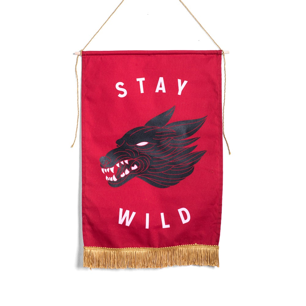 Image of Stay Wild Medium Banner