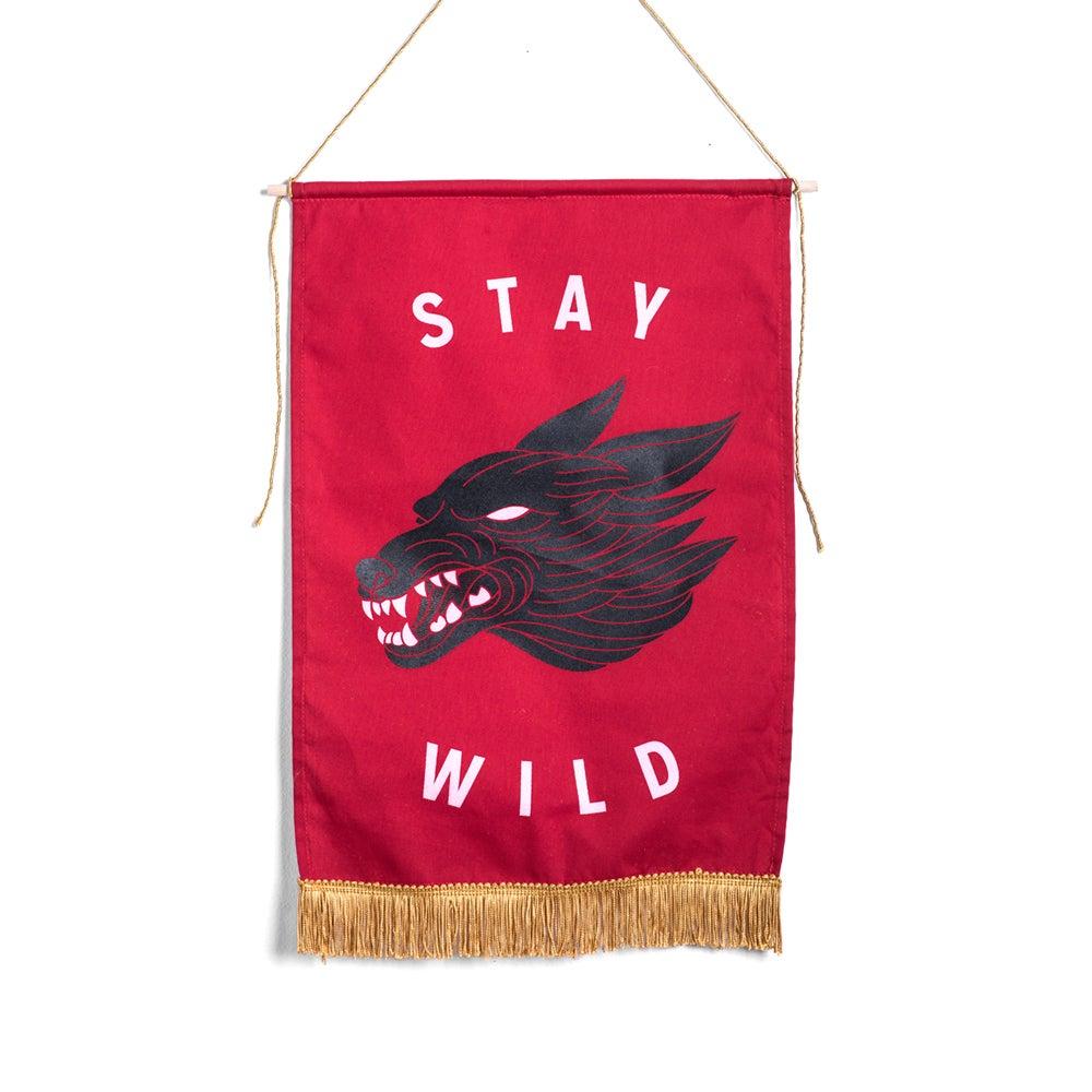 Image of Stay Wild Medium Banner