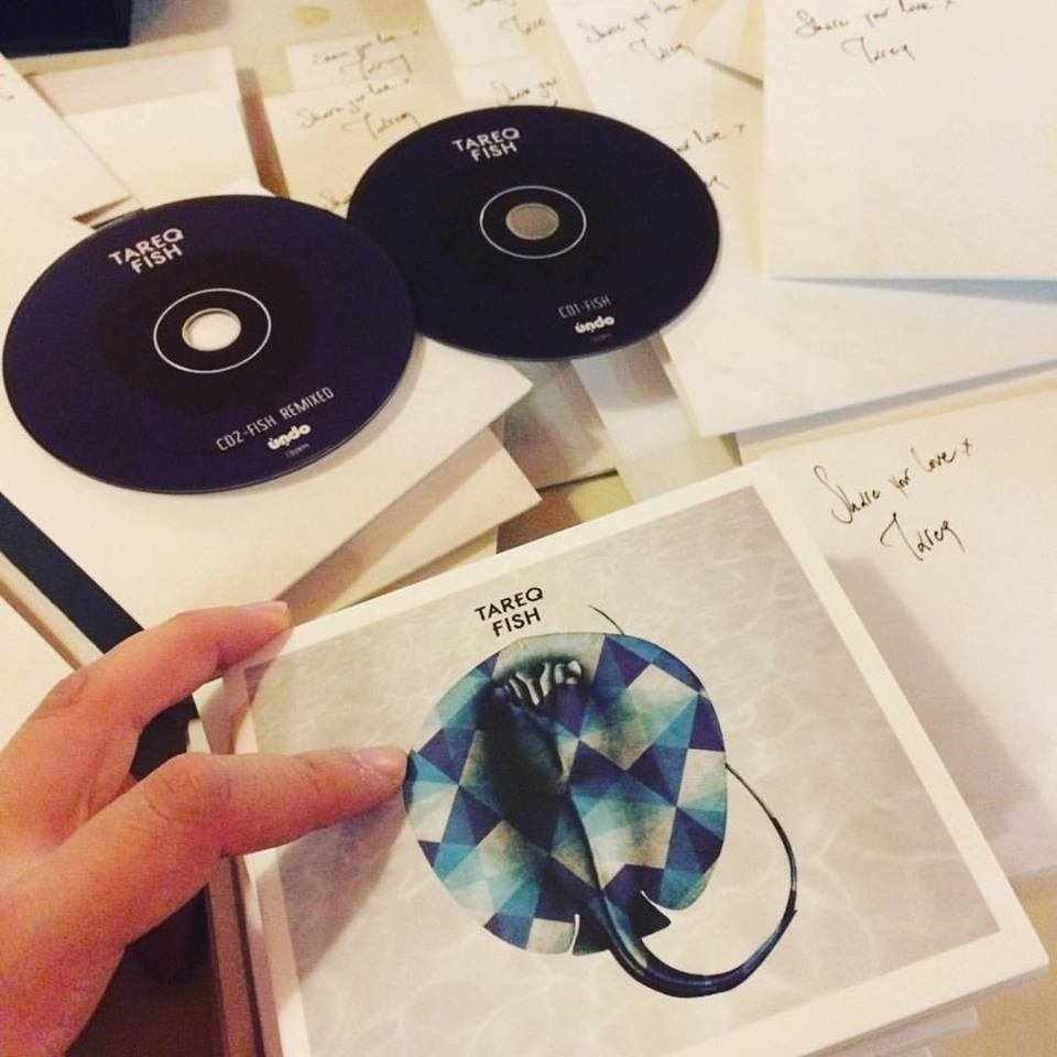 Image of CDUN44 TAREQ : Fish Limited Edition Double CD+Poster.Signed