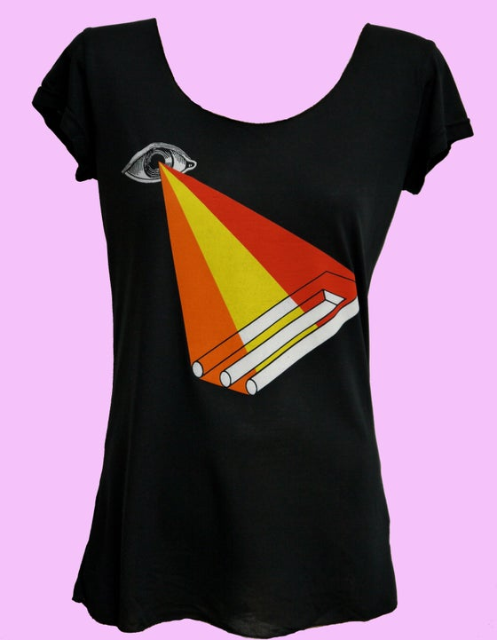Image of Eye Know Modal Tee- Black