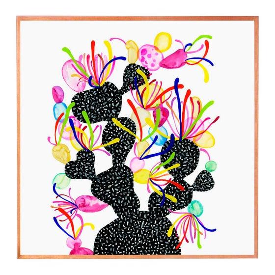 Image of Walk At Night (pinks) print