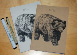 Image of Bear Notebook