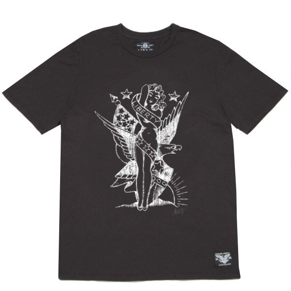 Image of Sailor Jerry Men's T-Shirt - Lady Liberty
