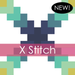 Image of X Stitch Mini Quilt #117, PDF Pattern