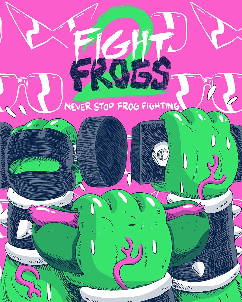 Fight Frogs 2: Never Stop Frog Fighting