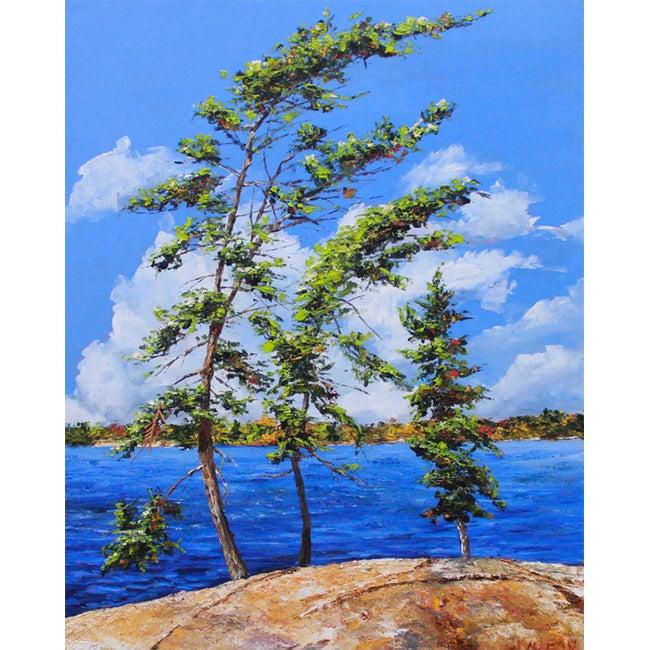 Image of - Three Trees -