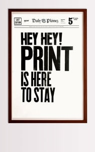 Image of Print Is Here to Stay