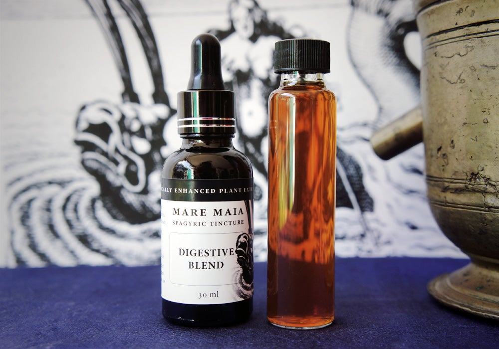 Image of DIGESTIVE BLEND spagyric tincture - alchemically enhanced plant extraction
