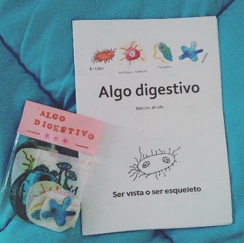 Image of Fanzine + pack 8 pegatinas