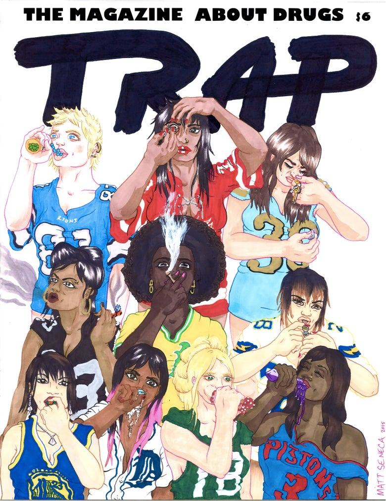 Image of TRAP: THE MAGAZINE ABOUT DRUGS