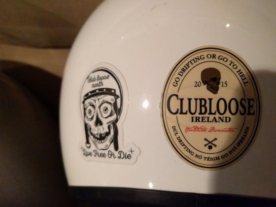 Image of CLN Helmet Sticker