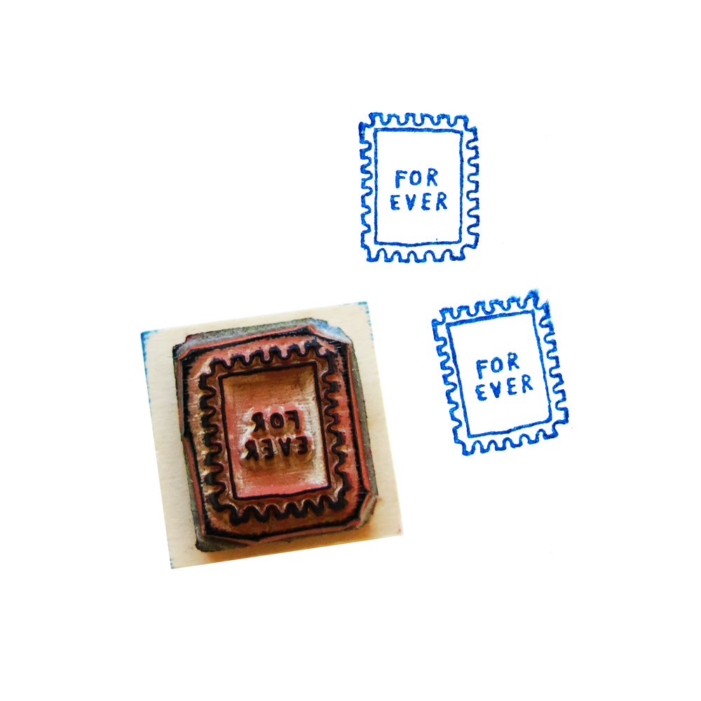 Image of FOREVER STAMP Rubber Stamp