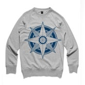 Image of Men's Nautical Compass Rose Crew